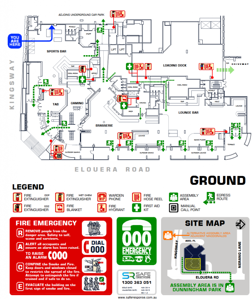 Evacuation Diagrams Safe Response Pictorial Are Strictly Designed In Accordance With Your Emergency Planing Consultants These Outlays For Workers Guests