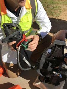 Breathing apparatus training Sydney